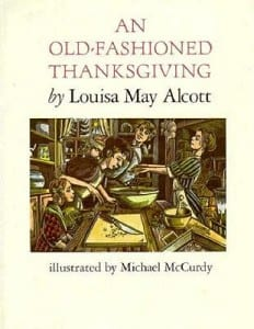 louisa may alcott thanksgiving book