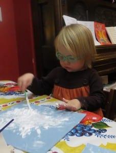 winter sensory activity for kids