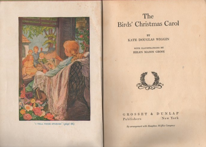 vintage children's christmas classic book