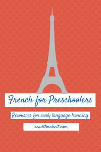 teaching french to kids