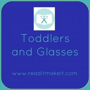 helping toddlers wear glasses