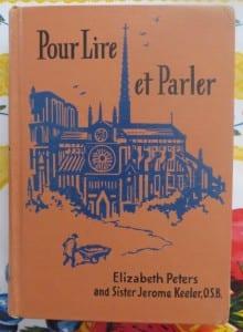 Vintage French textbook: Pour Lire et Parler