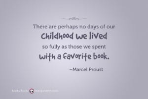 Proust Book quote