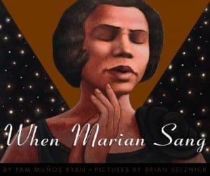 marian anderson children's book, women's history month children's books