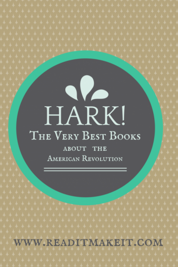 books about the american revolution