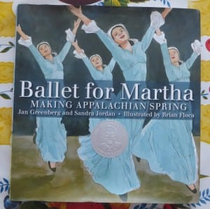 book about martha graham, kids dance book