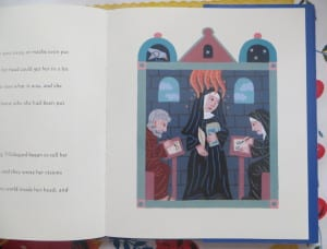 books about hildegard von bingen, children's books for hildegard von bingen