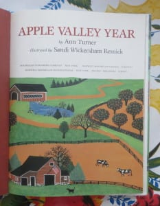 apple book, children's apple book, book for fall, children's books for fall